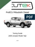 Mitsubishi Diesel - Tuning