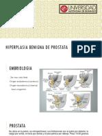 Presentación hiperplasia prostatitis