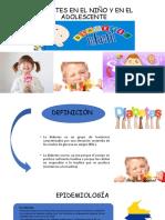 Exposicion Diabetes en el niño