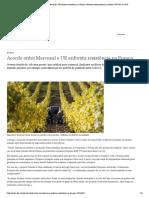 Acordo entre Mercosul e UE enfrenta resistência na França _ Notícias internacionais e análises _ DW _ 02.07.2019