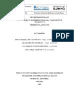 Proyecto Procesos Industriales Primera Entrega Aporte Jairo Celi