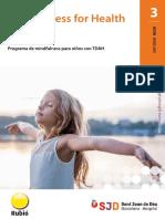 Informe-hsjd-mindfulness for Health - Programa de Mindfulness Para Ninos Con Tdah