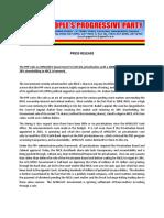 PPP Press Release December 4, 2017