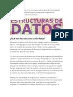 Datos datos estructurasggd