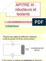 conducteusr et isolants