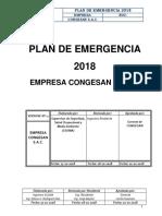 Plan de Emergencia Congesan