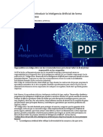 Cinco Pasos Para Introducir La Inteligencia Artificial de Forma Ética en Las Empresas