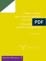 Libro Niñas y niños que viven en prisión con sus madres