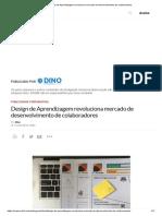 Design de Aprendizagem Revoluciona Mercado de Desenvolvimento de Colaboradores
