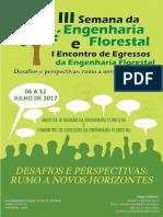 Anais da III Semana da Engenharia Florestal e I Encontro de Egressos da Engenharia Florestal
