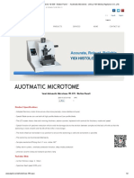 Semi Automatic Microtome YD-335(Button Panel) - Auotmatic Microtome - Jinhua YIDI Medical Appliance CO.,LTD