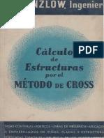 Calculo de Estructuras Por El Metodo de Cross