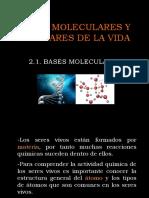 2.1 Bases Molecularas de La Vida