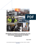 Caracterización General Del Escenario de Riesgo Por Riesgo Tecnologico de Santiago de Cali