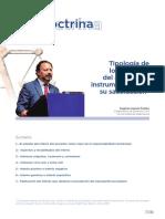 Tipologia de Los Intereses Del Acreedor e Instrumentos Para Su Satisfaccion- Revista 45