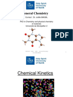 Chapter 3 Chemical Kinetics