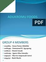 Adukromu Foods1 Mams 2016 Strategy