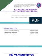 AAPLICACIONES DE LA MICROSCOPÍA DE OPÁCOS (EXPOSICIÓN) (K).pptx