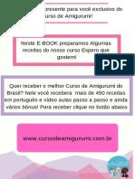 Curso de Amigurumi - Presente Exclusivo!