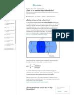 ¿Qué Es La Tasa de Flujo Volumétrico_ (Artículo) _ Khan Academy