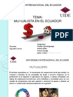 Mutualistas en Ecuador