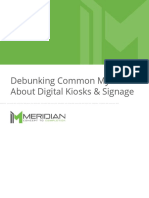 Debunking Common Myths About Digital Kiosks and Signage