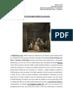 Diccionario Las Meninas - Diego Velazquéz - Arantxa Inzaurgarat
