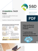 Presentacion Domótica S&D