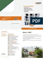 OWON Product Catalogue v3.2.3