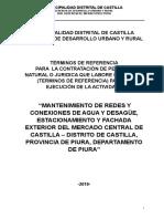1. TDR Mantenimiento Mercado Castilla