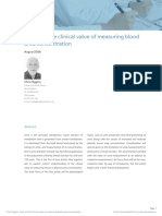 Urea and the Clinical Value of Measuring Blood ANS Approved