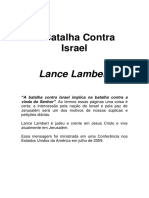 A Batalha Contra Israel - Lance Lambert