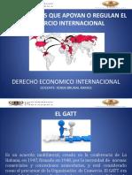 Instituciones Que Apoyan o Regulan El Comercio Internacional 2017 -2