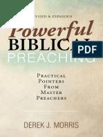 Derek J. Morris - Powerful Biblical Preaching