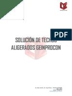Ficha Tecnica Solucion de Techos Aligerados