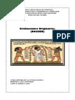 Civilizaciones Originarias I.