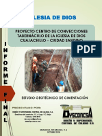 Informe Geotecnico Iglesia de Dios en Nic
