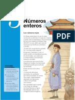 Nros Enteros - Matematicas 1 ESO Avanza - Santillana