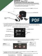 Spec AccuPRO QuickStart Guide