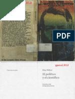 WEBER, MAX - El Político y el Científico (OCR) [por Ganz1912].pdf
