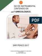 Catálogo Set Ginecológico