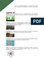 Ecosistemo Niveles Organizacionales de La Naturaleza