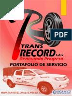 PORTAFOLIO TRANSRECORD
