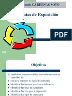 RUTAS DE EXPOSICIÓN DE LOS TÓXICOS