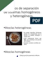 Métodos de separación de sistemas homogéneos y heterogéneos.pptx
