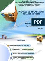 Implantación ISO 9000