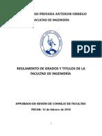 Reglamento de Grados y Títulos FI 2019 v5 Printed
