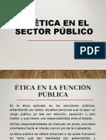 3. Etica en El Sector Publico