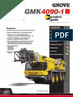 Grove GMK 4090-1 __Brochure