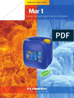 Flamark Mar 1 Product Data Sheet